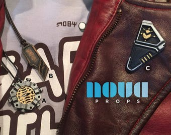 Star Lord Pendant Necklaces and Lapel Pendant - Guardians of the Galaxy Vol. 2