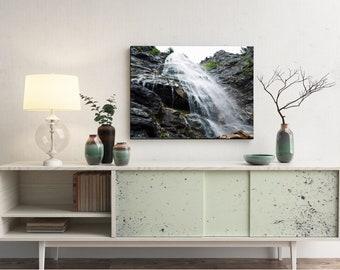 Waterfall landscape (Print)