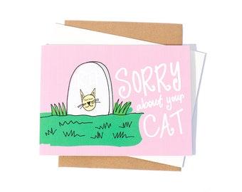 Greeting Card: Cat Sympathy