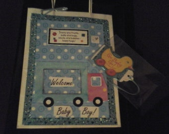 gift bag for new baby boy