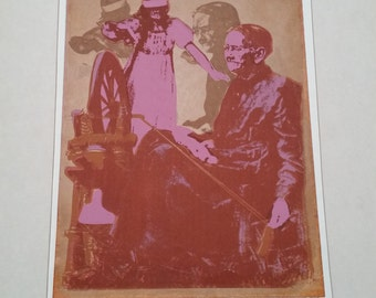 If I had it to do all over again Serigraph limited edition signed 1972