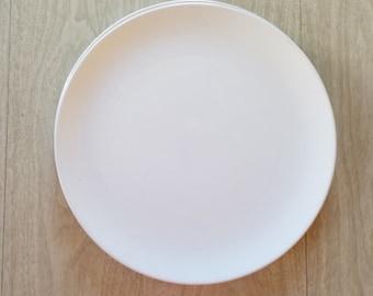 Simple Sophistication Vintage White Ide Brother Dinner Plate
