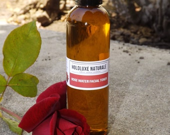 Natural Organic Rosewater Toner– Small Batch Handmade  – Natural Facial Toner- Organic Rose Water Spray-Black Friday Sale