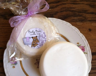 Baby Bare Lavender Soap 4oz Round