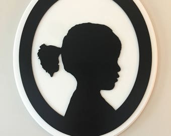 Custom Wooden Silhouettes