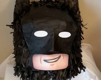Brick Head bat BOY style Piñata. Handmade. New