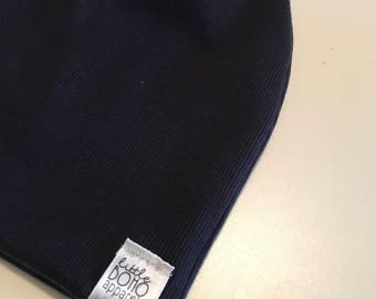 SALE NAVY RIBBED