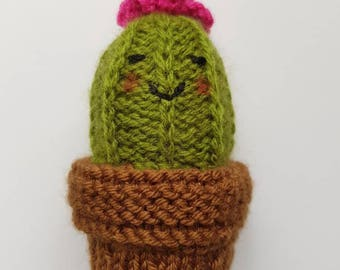 Cactus baby rattle toy - Baby Gift, Baby Toys, Nursery Decor!