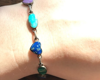 Vintage high quality turquoise resort jewelry