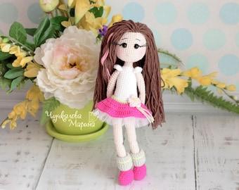 PATTERN Thumbelina the doll PDF crochet pattern