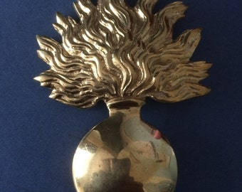 Reproduction French Napoleonic Giberne 'Grenate' Badge
