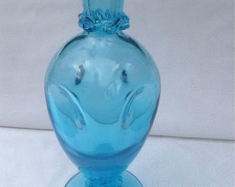 Antique blue glass vase(new markdown)