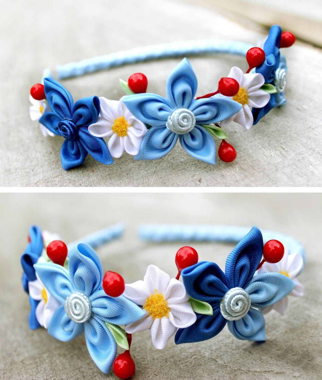 Light Blue Headbands