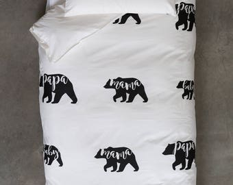 Limited Edition Three Bears Quilt Cover Set