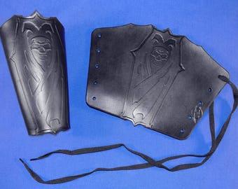 Leather Vampyr Coffin Bracers