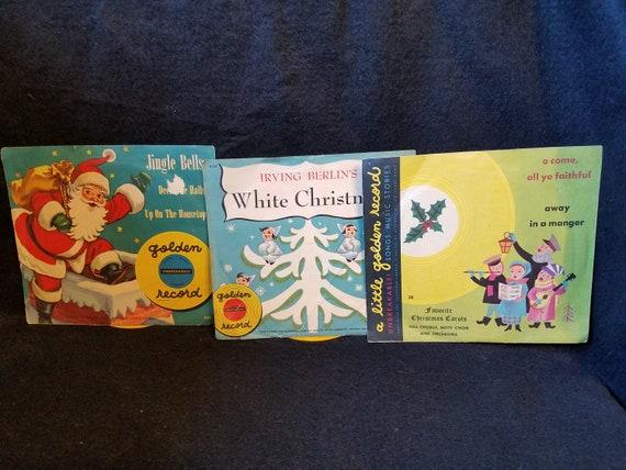1950s Little Golden Christmas Records