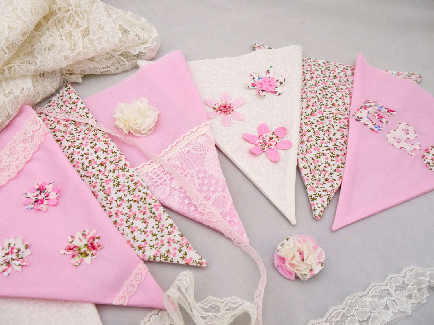Hen Party Bunting Kit. Make your own personalised wedding