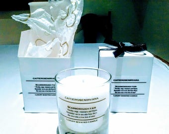Scented SoyCandle Scarborough Fair. Highly Scented Soy & Coconut Wax Candle.Vegan friendly. Mother's Day gifts. Candles.scented candles.