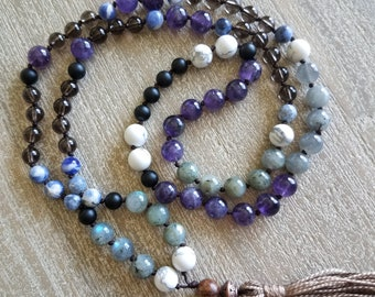 On the go Om Mala (shorter mala with only 88 beads) PRICE INCLUDES SHIPPING!