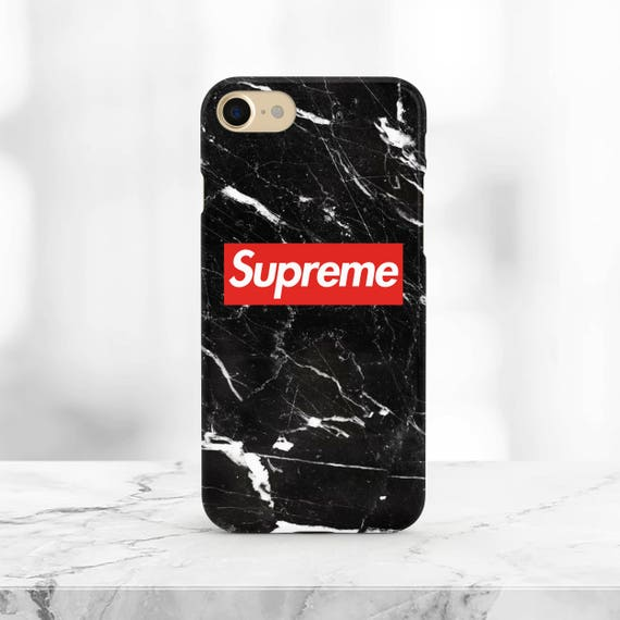 coque iphone 7 supreme rouge