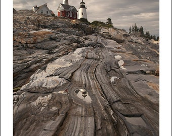 Pemaquid Point Lighthouse - Maine - Color Photo Print - Fine Art Photography (LM08)