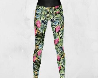 Tropicana - Yoga Pants, Leggings