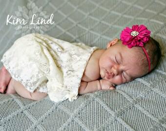 ChiffonFlower Headband, Baby Headband, Girl Headband, Infant Headband, Newborn Headband, Adult Headband