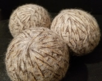 All Natural Wool Dryer Balls Set of 5