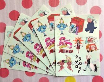 Classicaloid Sticker Sheet 5 x 7