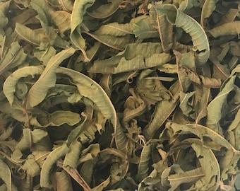 Lemon Verbena Whole Leaves, Dried Herb, Aloysia triphylla