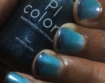 Tanager.043 Blue Teal Nail Polish Thermal Color Changing