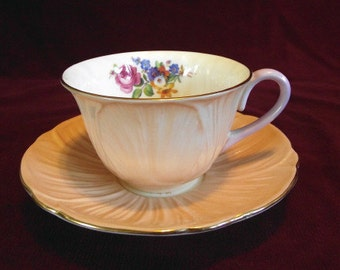 Shelly Cup and Saucer Pattern #13335/5.15, Vintage, PM573