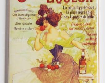 Oranginette Liqueur Fridge Magnet