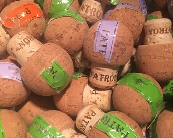 Patron Tequila Wine Corks in Bulk for Crafts, Weddings, Events