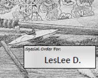 Special Order for LesLee D.