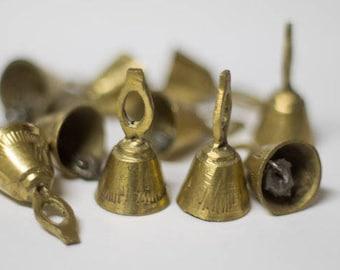 Mini Brass Temple Bells