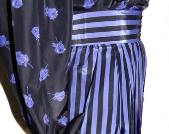 Boldly Striped Pencil Skirt