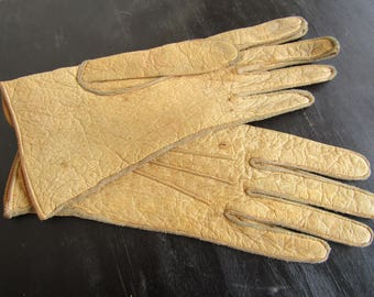 Leather Gloves - Sz 1