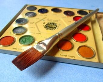 Watercolour Brush,Paint Brush,Flat,Wash Brush,Sable Synthetic,Back to School,Art Class,Summer Fun,Workshop,Travelogue,Urban Sketching,Japan