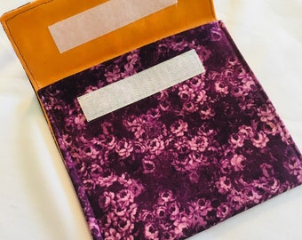 Set of Reusable washable lunch snack bags