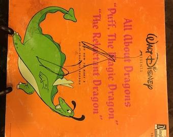 1966 Walt Disney's PUFF the Magic DRAGON Disneyland Records ST 1301
