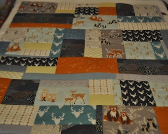 Cot Bedding, Nursery Beddin, Hello Bear Cot Bed Quilt, Cot Bar Bumpers, Nursery Cushion, Handmade Patchwork Nursery Bedding made to order