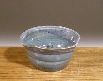 Handmade , Stoneware Pottery , Apple Baker , Ring Holder , Caramel Apple Cooker , by Jon Whitney Pottery