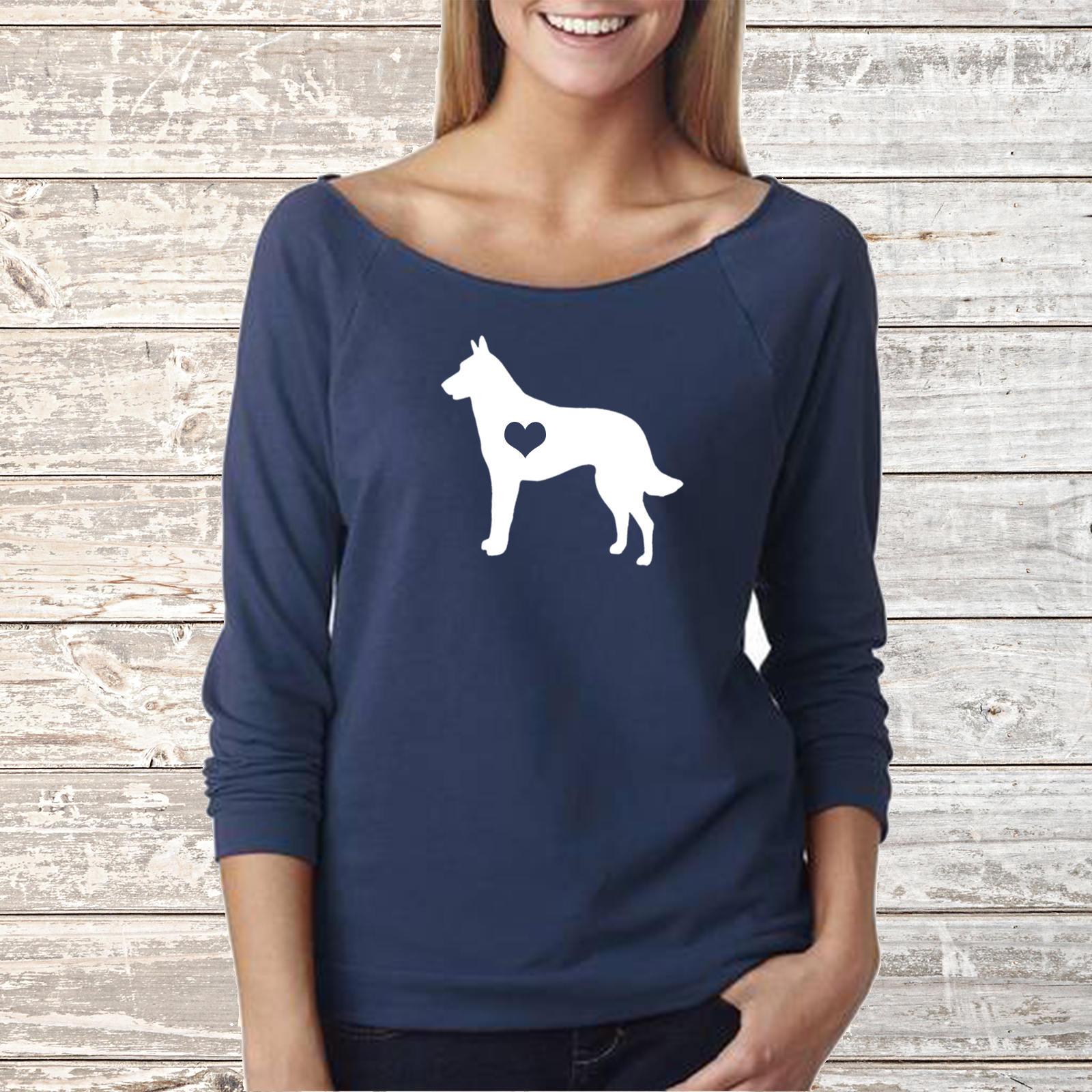 Belgian malinois dog next level long sleeve shirt zoom nvjuhfo Gallery