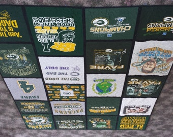 Custom made T Shirt Quilts