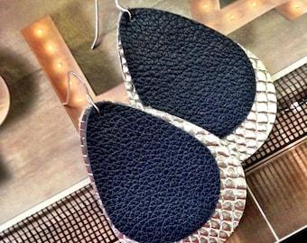 Rupert and Stella Leather Earrings - We've Got Spirit
