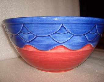 Seville Treasure Craft Small - Medium Ceramic Mixing Bowl (Mexico)