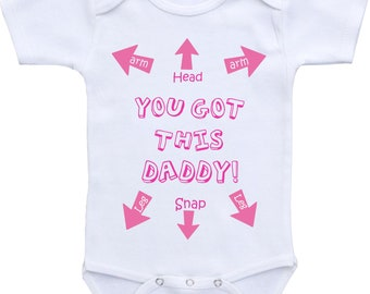 Funny baby clothes Funny baby girl onesie Funny baby onsies Funny baby shirts Funny Onesie Dad Funny baby gifts for girls funny baby onesies