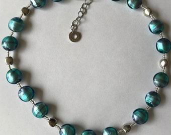Blue necklace Antica Murrina