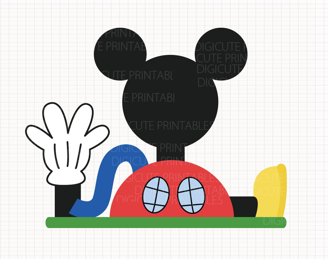 disney inspired mickey mouse clubhouse digital clip arts rh etsy com free mickey mouse clubhouse clipart free mickey mouse clubhouse clipart